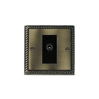 ハミルトン Litestat ・ チェリトン グルジア アンティーク真鍮 1 g 非絶縁テレビ (男性) BL