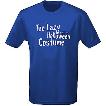 Too Lazy To Get A Halloween Costume Costume Fancy Dress Halloween Kids Unisex T-Shirt 8 Colours (XS-XL) by swagwear