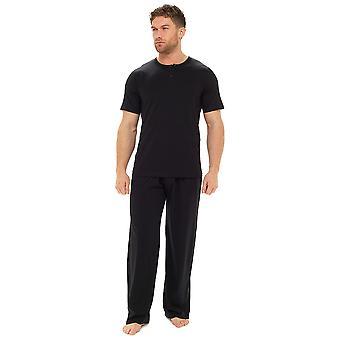 トムフランクスメンズプレーンコットン半袖トップラウンジナイトウェアパジャマ