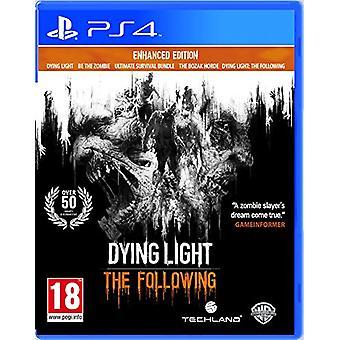 Döende ljus följande Enhanced Edition (PS4)-ny
