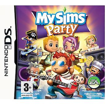 My Sims-partiet (Nintendo DS)-nyt