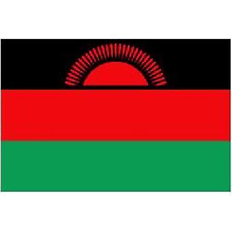 Malawis Flag 5 ft x 3 ft med øjer til ophæng