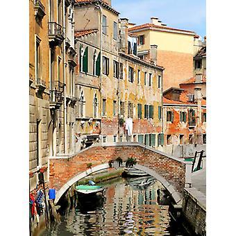 Venezia utsikt II Poster trykk av Golie Miamee (20 x 26)