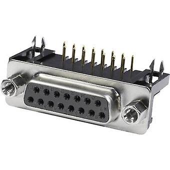 ECON koble BU37WB/9 D-SUB beholdere 90 ° antall pinner: 37 loddetinn pinnene 1 eller flere PCer skuff