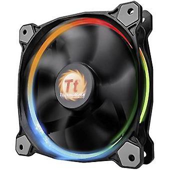 Thermaltake Riing 12 LED RGB PC-Lüfter schwarz (W x H x T) 120 x 120 x 25 mm