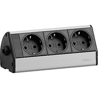 EVOline 93000403 Socket strip (w/o switch) Black, Silver PG connector 1 pc(s)