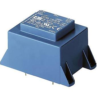 PCB mount transformer 1 x 230 V 2 x 12 V AC 36 VA 1.5 A VCM 36/2/12 Block