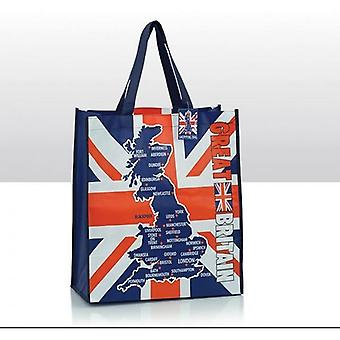 Union Jack Wear Union Jack Great Britain Shopping Bag