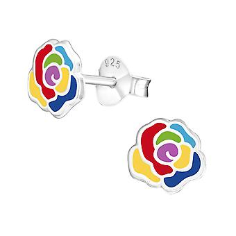 Rose - 925 argent Sterling coloré argenter - W37140X