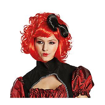 Cutie doll ladies wig red cute doll accessory Carnival Halloween