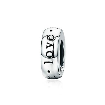 Sterling silver charm I love you forever