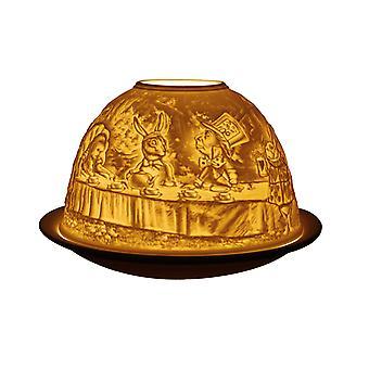 Light Glow Dome Tealight Holder, Alice in Wonderland