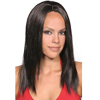 Fashion women medium straight Faith wig