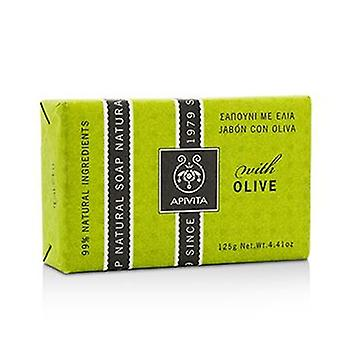 Apivita Natural Soap With Olive - 125g/4.41oz