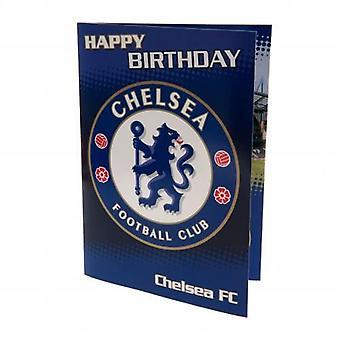 Chelsea Musical Birthday Card