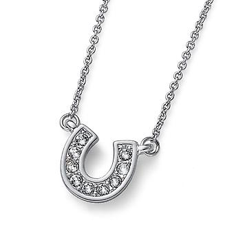 Oliver Weber Pendant Luckily Rhodium Crystal
