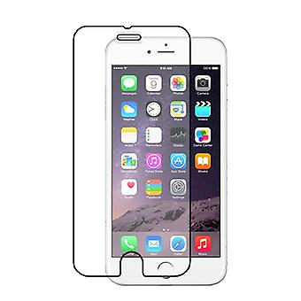 iPhone 6/6S protector de pantalla de vidrio templado Retail caja de plástico duro