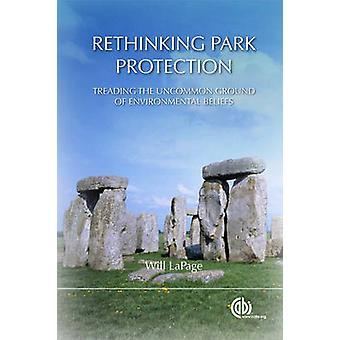 Nytänkande Park skydd - trampar Uncommon marken av omgiv