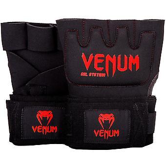 Venum Kontact ゲル ラップ ブラック/レッド