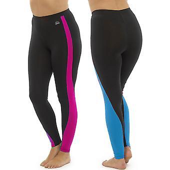 2Pk κυρίες Tom Franks δύο τόνους αθλητική γυμναστήριο γιόγκα γυμναστήριο κολάν μόδα MED-μπλε-ροζ