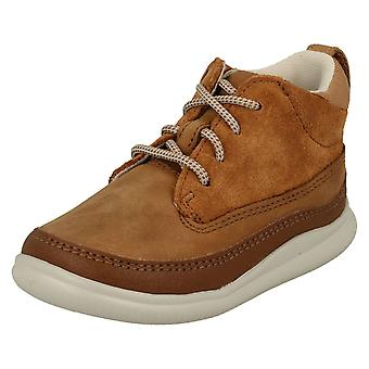 Boys Clarks Casual Ankle Boots Cloud Air