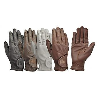 Hy5 Children/Kids Leather Riding Gloves