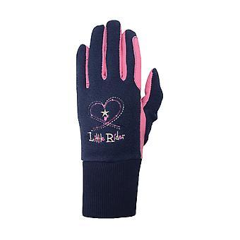 Little Rider Childrens/Kids Riding Star Winter Gloves