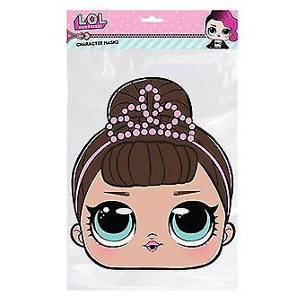 Fancy LOL Surprise Single 2D Card Party Fancy Dress Mask