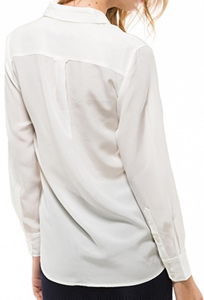 GANT Womens silke skjorte eggeskall | Fruugo Norge