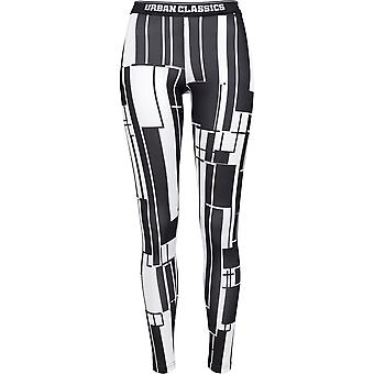 Urban classics ladies leggings graphic sports