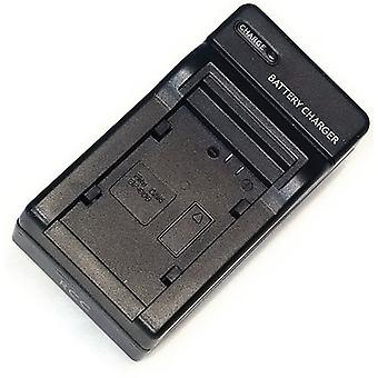 AC/DC Battery Charger for Canon BP-827 BP-820 BP-828 Vixia HF200 Legria FS200