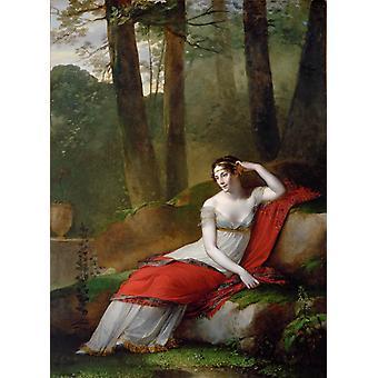 Empress Josephine, Pierre-Paul Prud hon, 50x37cm