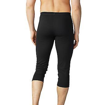 Mey 42445-123 Men's Mey Performance Black Calf Length Leggings