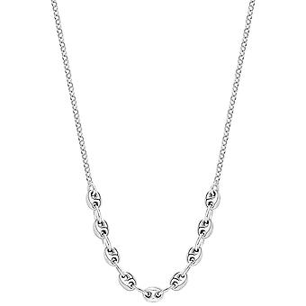 Bella Marine Link Chain Necklace - Silver