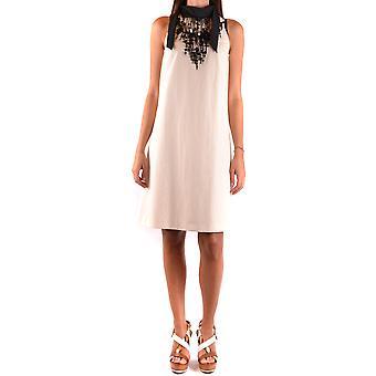 Brunello Cucinelli Ezbc002019 Women's White Cotton Dress