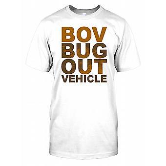BOV Bug Out véhicule Mens T Shirt