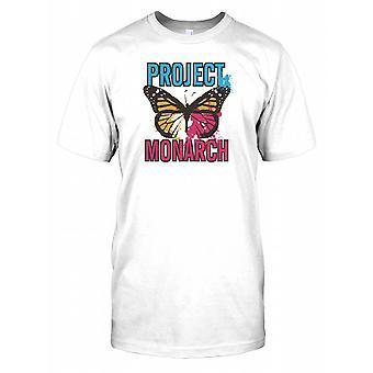 Project Monarchvlinders - samenzwering Mens T Shirt