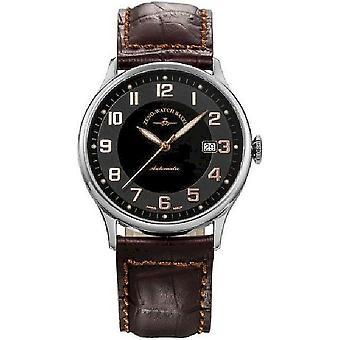 Zeno-watch mens watch flatline automatico retrò 6209-c1