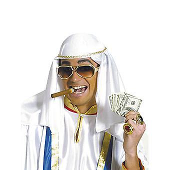 Sombrero árabe recortado fieltro