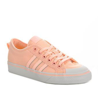 Dame Adidas Originals Nizza trænere i Clear orange