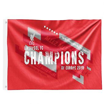 Liverpool Champions Of Europe Flag