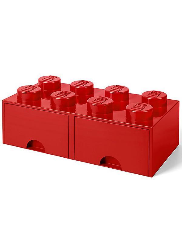 Lego Brick Storage Box 8 with 2 Drawers