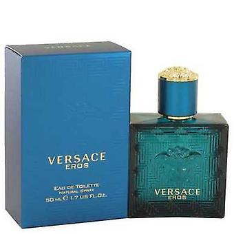 Versace Eros By Versace Eau De Toilette Spray 1.7 Oz (men) V728-501446