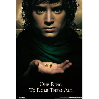 Poster - Studio B - Lord of the Rings - Fellowship 36x24