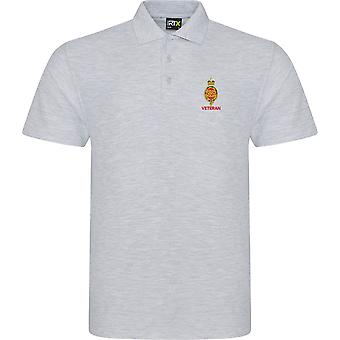 Royal Horse Guards Cypher veteran-licensierade brittiska armén broderade RTX Polo
