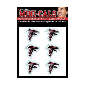 Wincraft 6 سلسلة ملصقا الوجه 3cm -- NFL اتلانتا الصقور