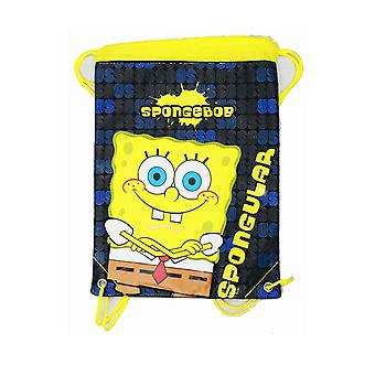 String Backpack - Spongebob - Cross Hand - Cinch Bag New Boys 30914