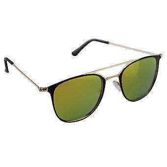 Sunglasses UV 400 Aviator Gold GeelHL195_4