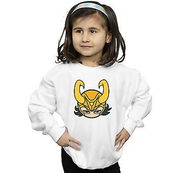 Marvel Girls Loki Close Up Sweatshirt