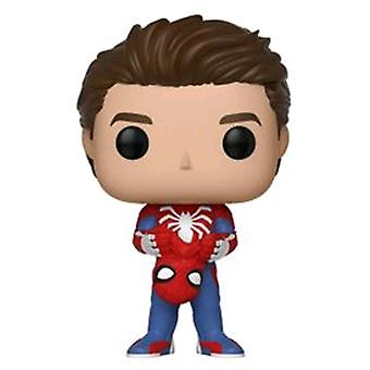 Spider-Man (Video Game 2018) Spider-Man Unmasked Pop! Vinyl